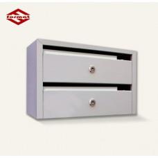 2-х секционный почтовый ящик «Оптима Компакт»