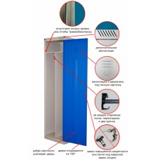 Металлический шкаф ШРЭК-21-530