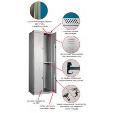 Металлический шкаф ШРК-24-600