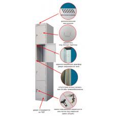 Металлический шкаф ШРС-14дс-300